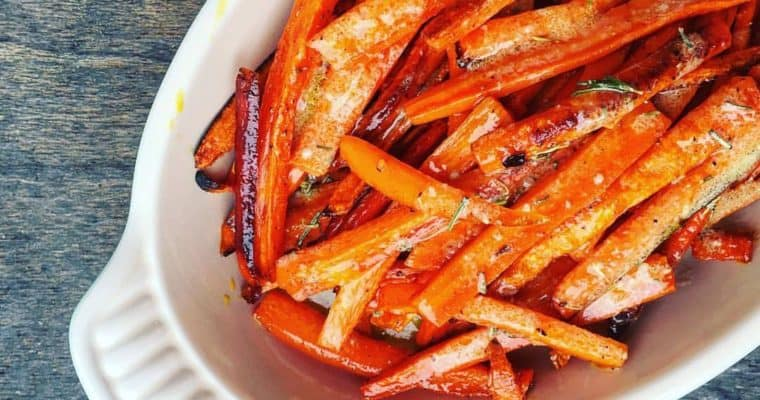 Rosemary Roasted Carrots (and Ree's Vinaigrette!)