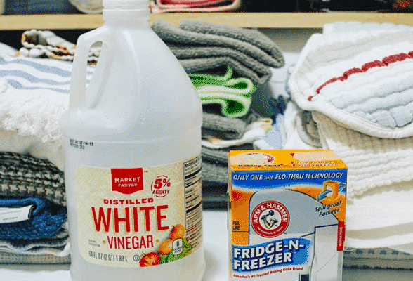Easy way to strip your towels (you likely already own the 2 ingredients you need!)