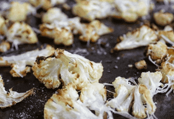 Parmesan Roasted Cauliflower