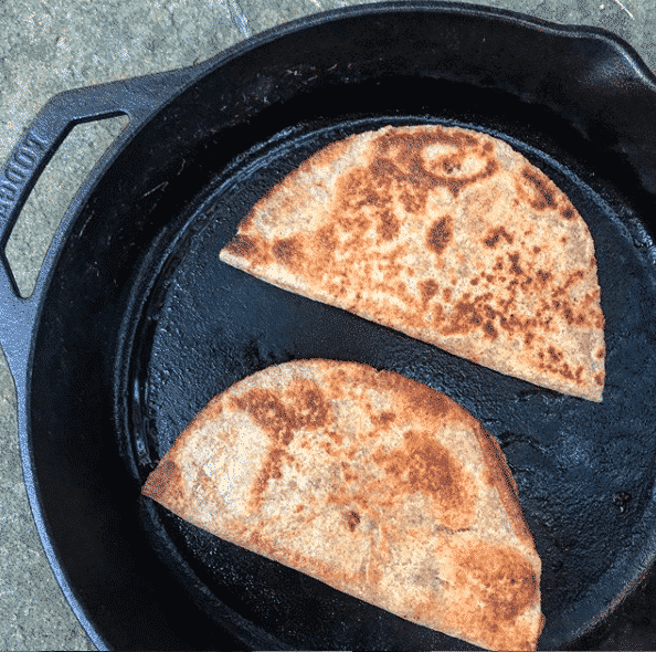 two tips for perfect quesadillas