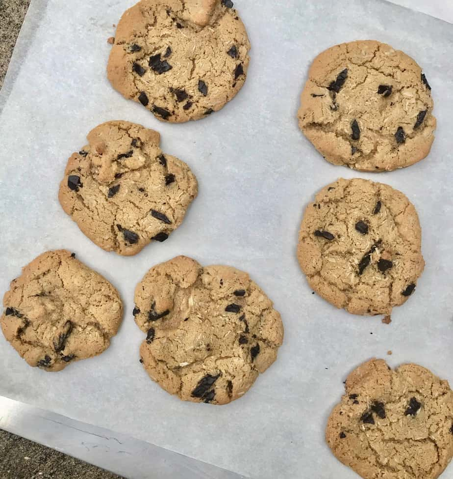 It's July 5th, and I'm baking cookies…