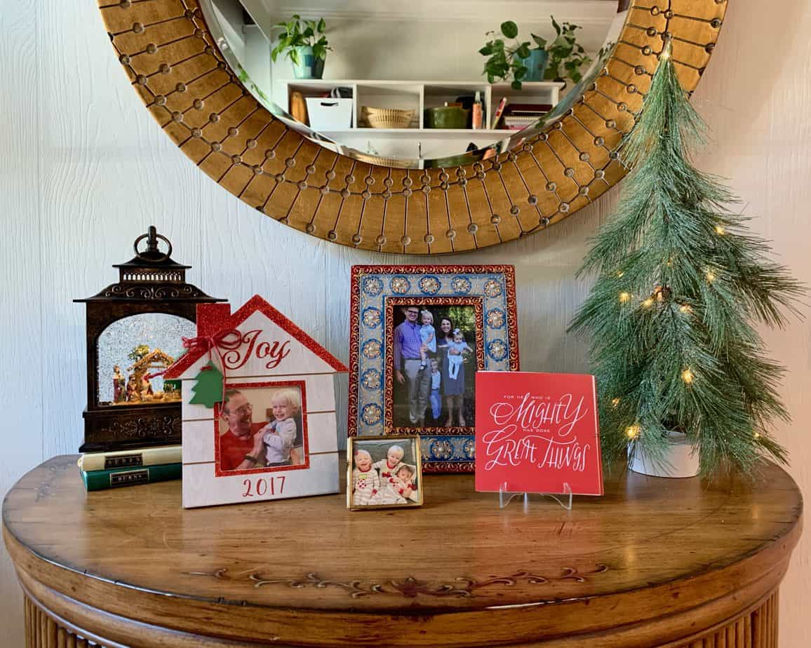 Decorating for Christmas with Little People {Pt 2}: Making merry without feeling like you live in a museum