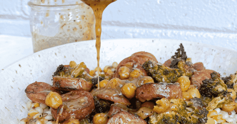 Sweet and Savory Bacon Vinaigrette