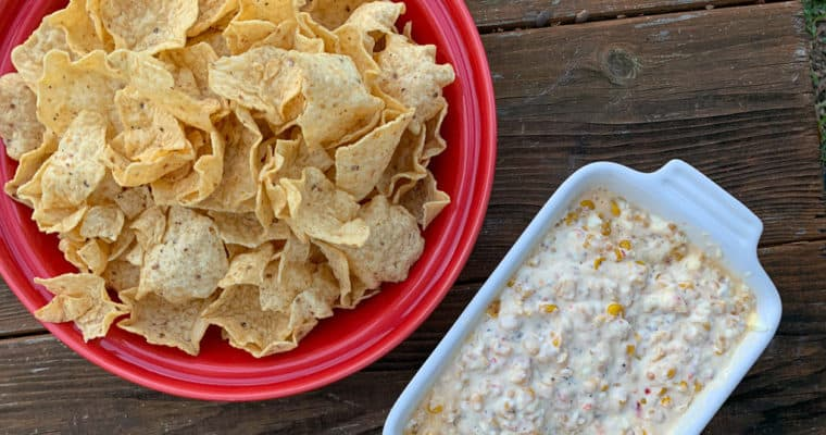 Cream Cheese and Corn Dip