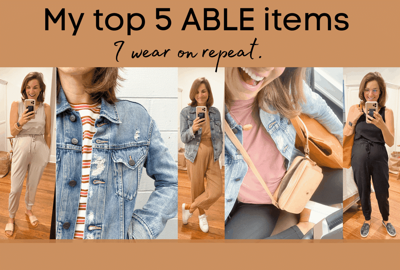 My Top 5 ABLE pieces I wear on repeat