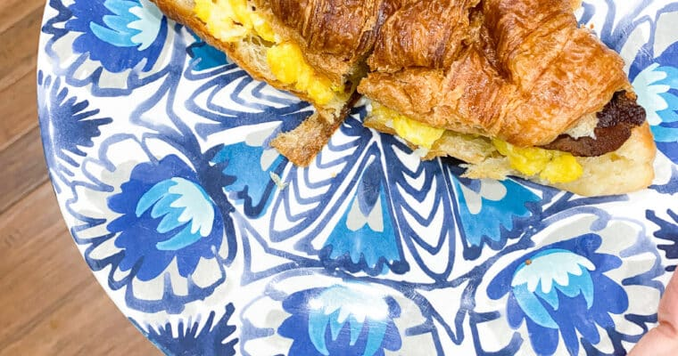 Breakfast Sandwiches (for your freezer!)
