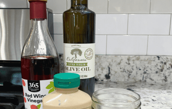 Making Your Own Salad Dressing